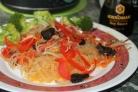 Фунчоза с брокколи