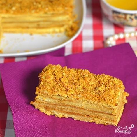 Торт наполеон пошаговый рецепт с по госту 151