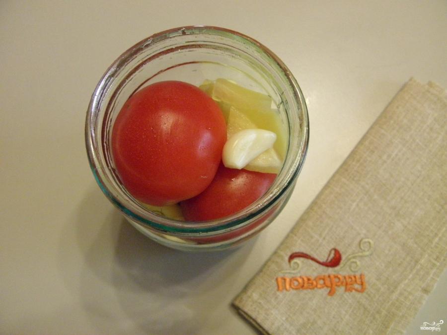 Закатка томатов на зиму - фото шаг 3