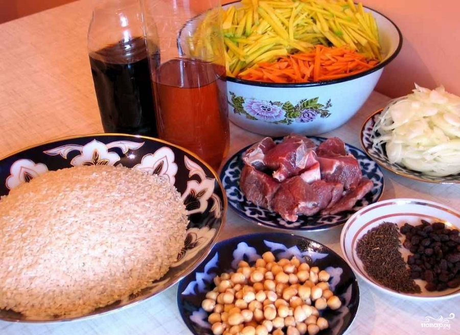 Рецепт Самаркандский плов