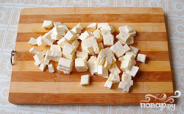 Греческий салат на Новый год - фото шаг 5