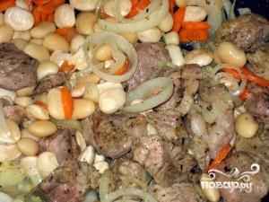 Фасоль с мясом - фото шаг 3