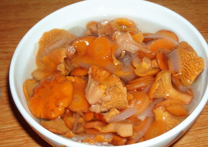 Маринование грибов лисичек рецепты