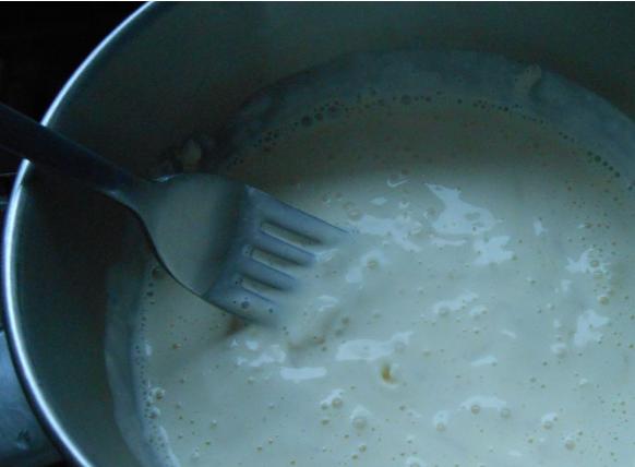 Рецепт Цветная капуста в сливочно-сырном соусе