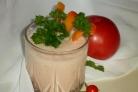 Коктейль из овощей в блендере