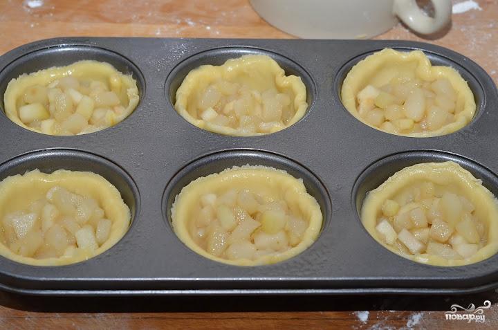 Пирожки с грушами - фото шаг 11