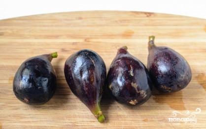 Рецепт Запеченный инжир с пармской ветчиной