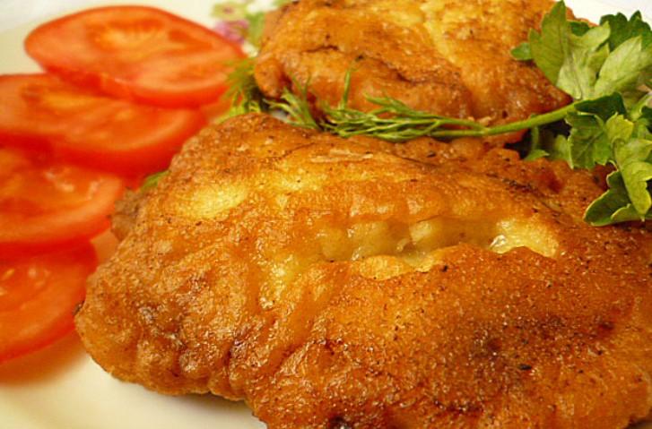 Мясо в сырном кляре   - фото шаг 8