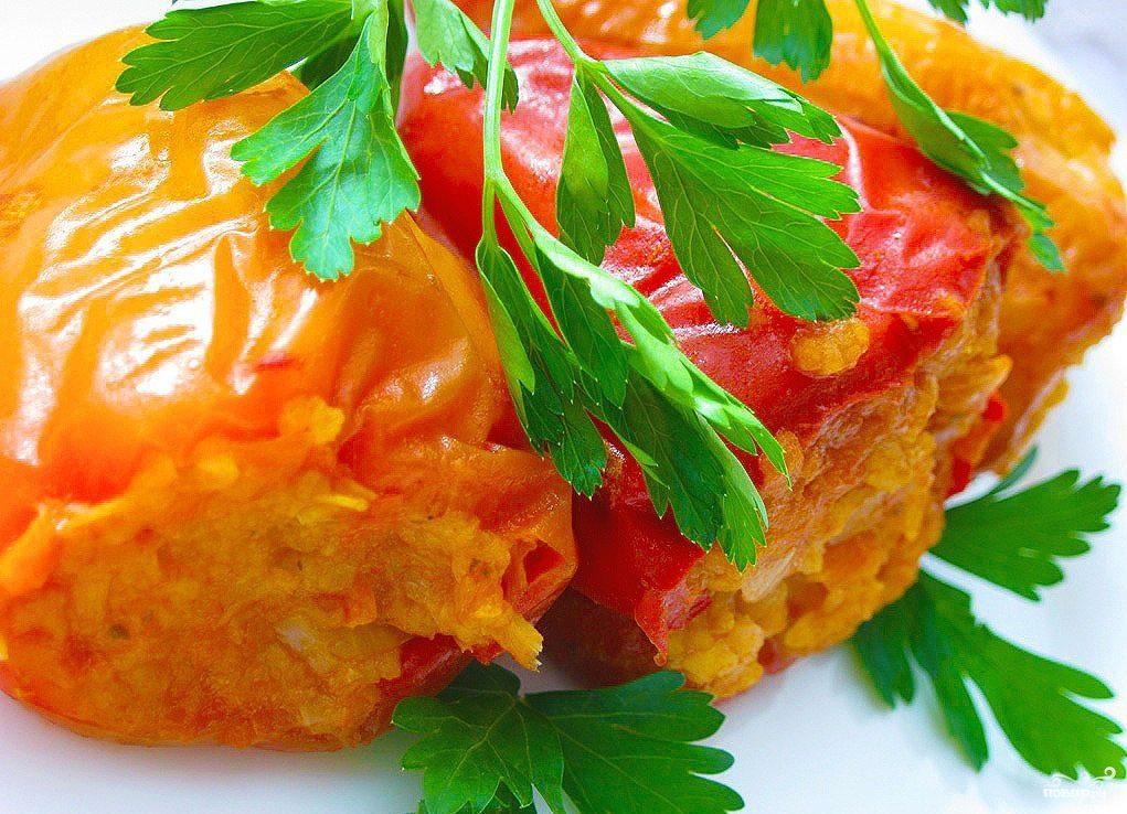 Рецепт Болгарский перец в пароварке