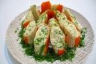 Крабовые палочки с сыром