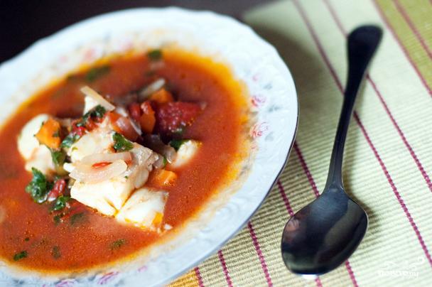Суп из соленой трески - фото шаг 6