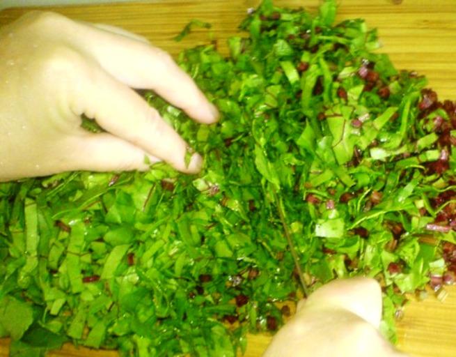 Рецепт Осетинский пирог с листьями свеклы
