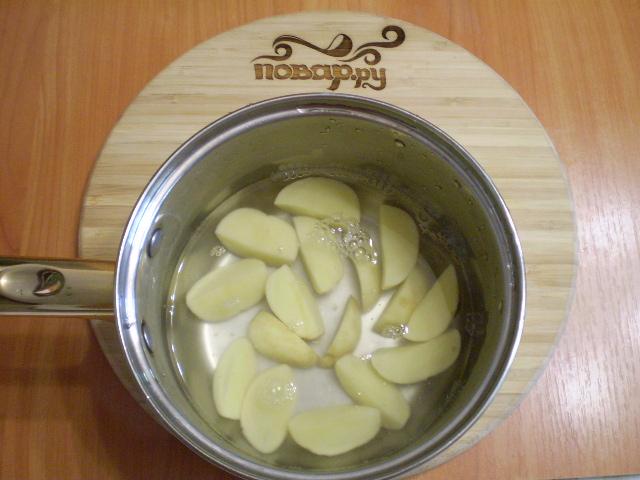 Салат с мелиссой - фото шаг 3