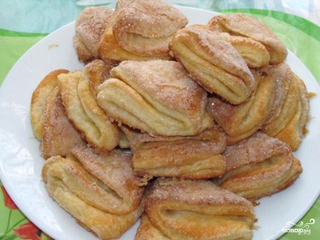 Печенье гусиные лапки рецепт без творога 11