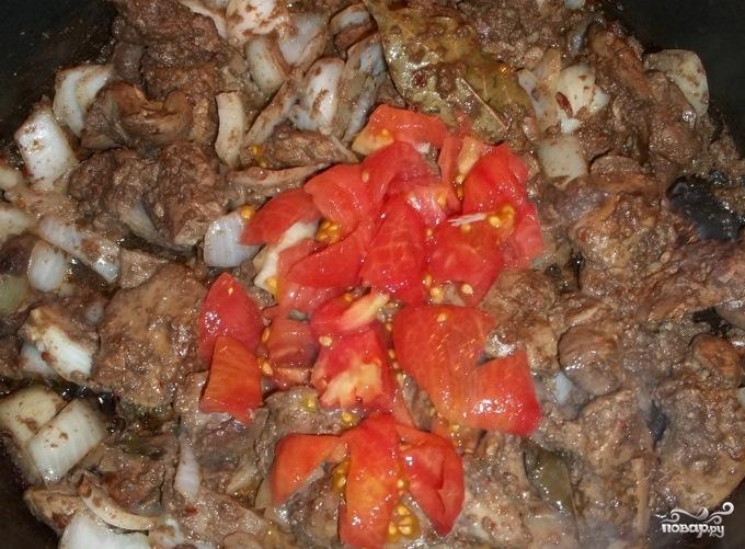 Куриная печень по-грузински - фото шаг 4