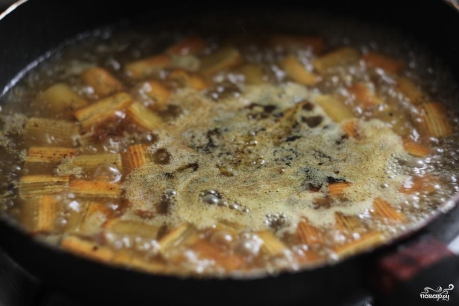 Жареные макароны - фото шаг 4