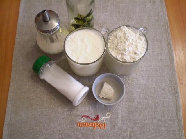 Рецепт Оладьи на кефире пышные без яйца