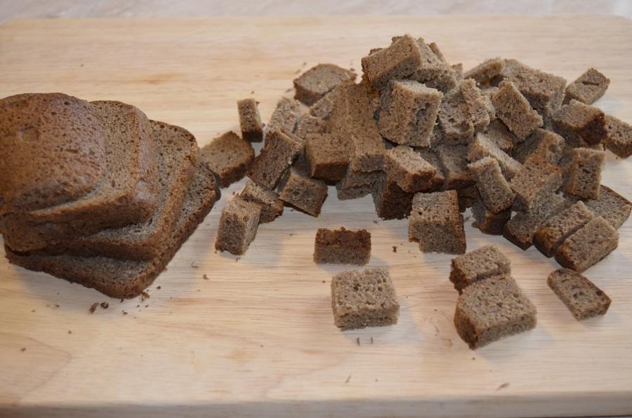 Хлебный кисель - фото шаг 1