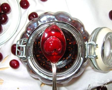 Рецепт Варенье из малины и вишни