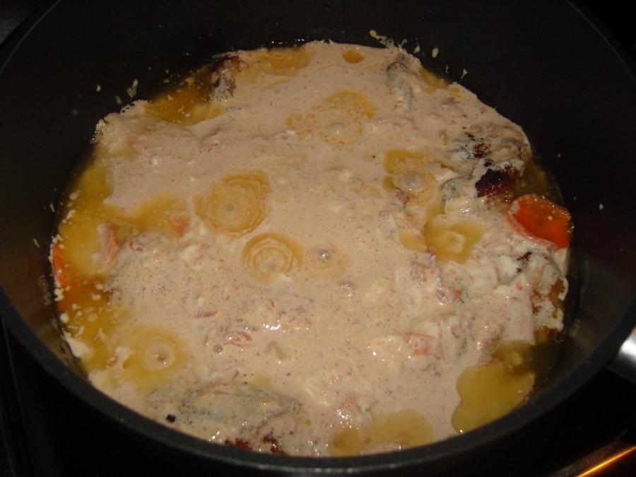 Куриные окорочка в соусе - фото шаг 7