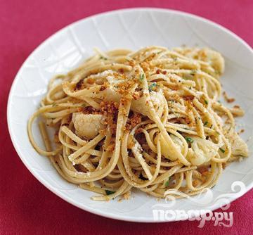 Рецепт Паста с цветной капустой и шалфеем