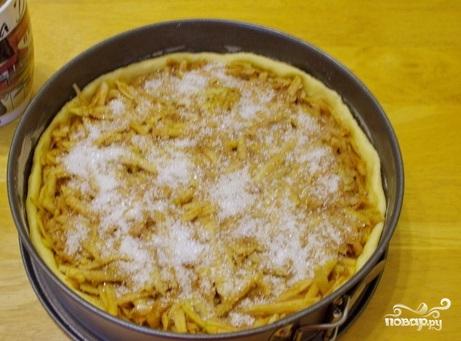 Песочный яблочный пирог - фото шаг 11