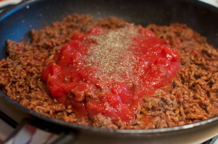 Подлива для макарон с фаршем пошаговый рецепт