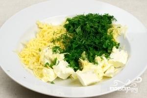 Батон с сыром и чесноком - фото шаг 5