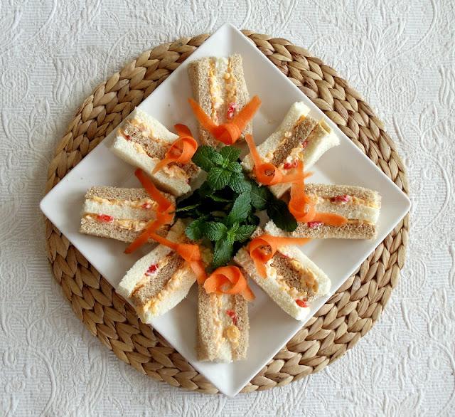Бутерброды на свадебный стол - фото шаг 4