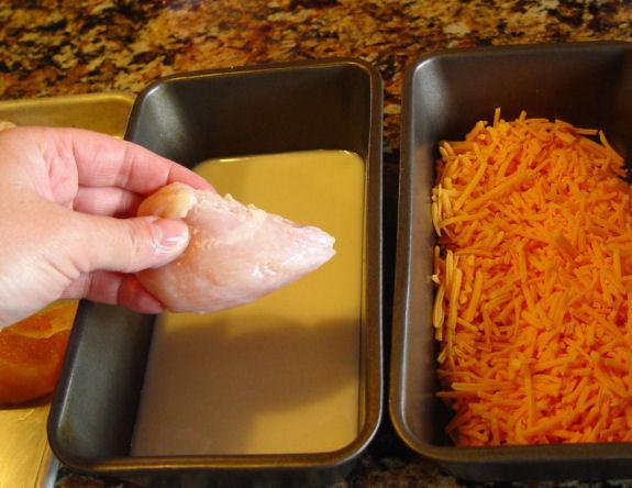 Курица под белым соусом - фото шаг 2