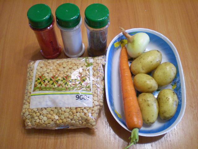 Рецепт Гороховый суп быстро