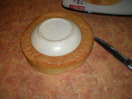 Торт двухъярусный - фото шаг 2