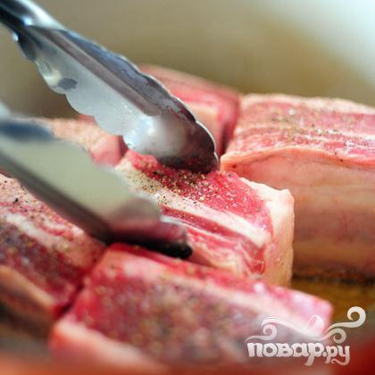 Рёбрышки в томатном соусе - фото шаг 4