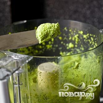Лингвини с соусом из зеленого горошка - фото шаг 3