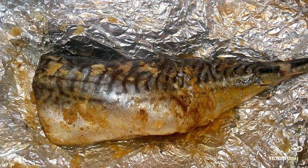 Рыба, запеченная в мультиварке