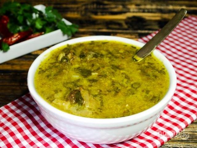рецепт настоящего грузинского супа харчо от лазерсона