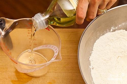 Песочный пирог с персиками - фото шаг 1