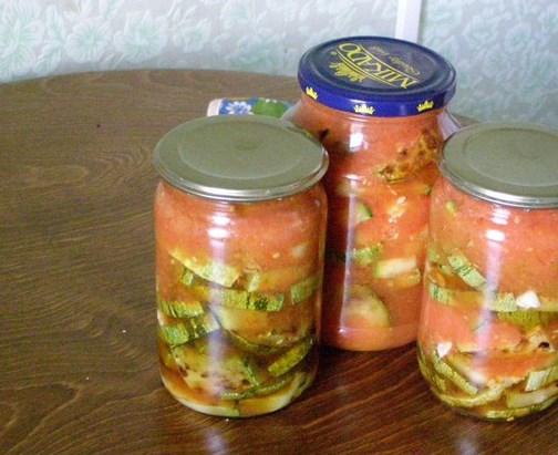 Жареные кабачки с чесноком на зиму - фото шаг 7