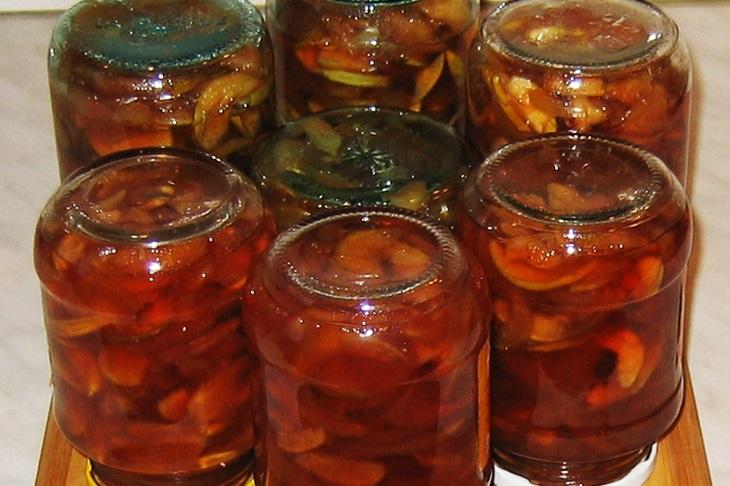 Варенье из яблок дольками прозрачное - фото шаг 8