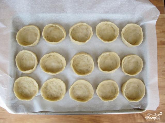 Маленькие пирожки для фуршета - фото шаг 5