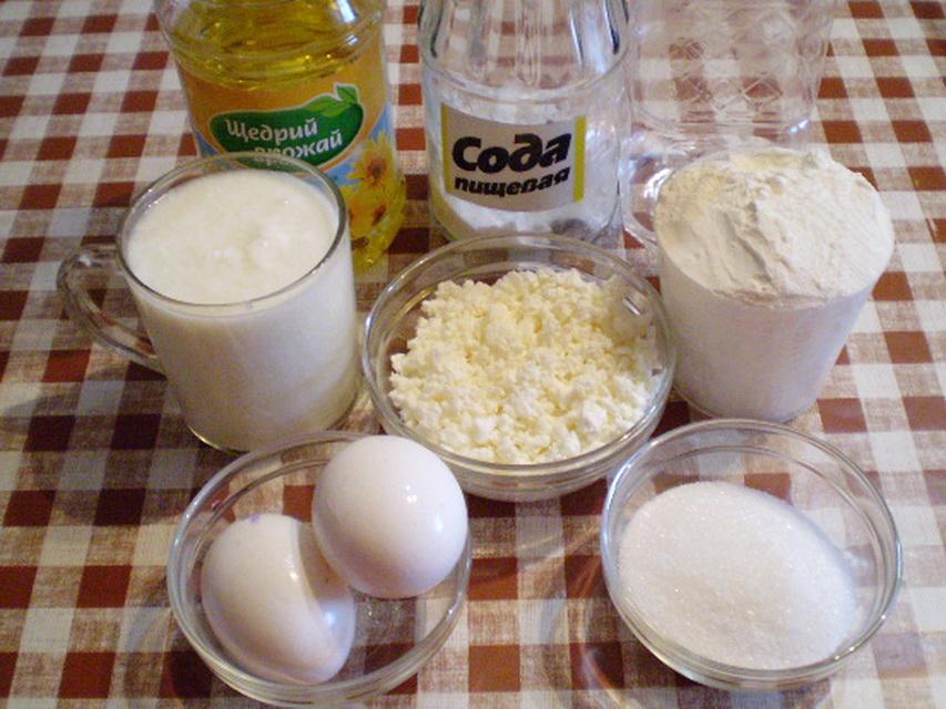 Рецепт Лепешки с сыром на кефире
