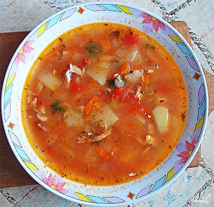 Суп из ставриды