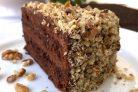 Шоколадно-ореховый торт (обалденный!)