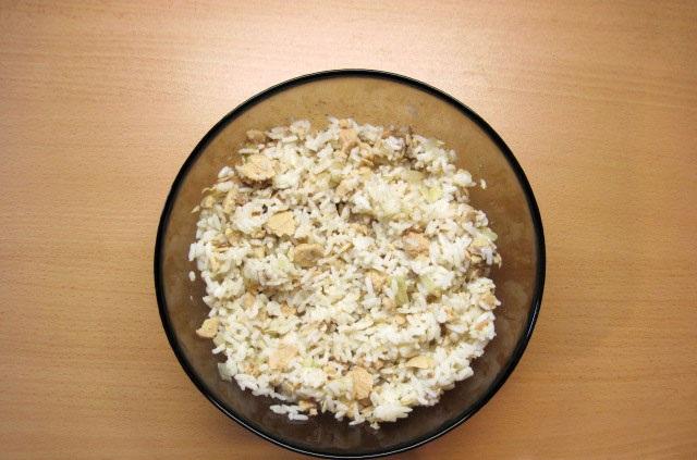 Начинка для пирожков из риса - фото шаг 5