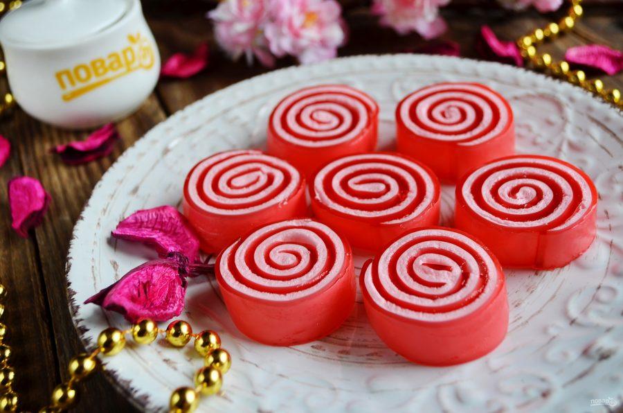 Домашние желейные конфеты