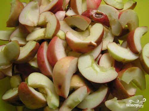 Яблочный компот - фото шаг 1