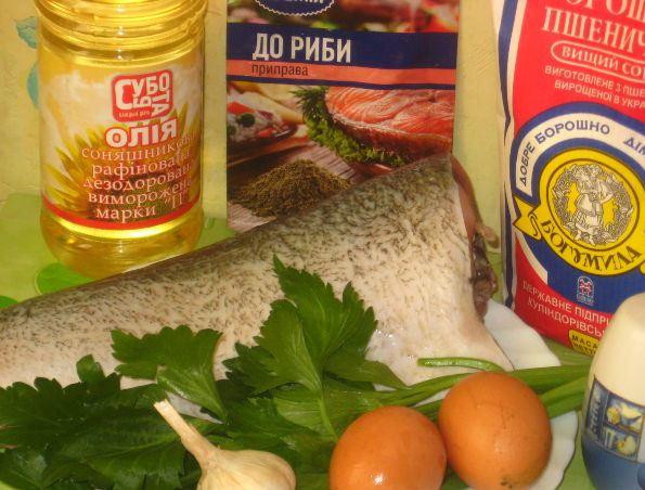 Рецепт Рыба, жаренная в яйце