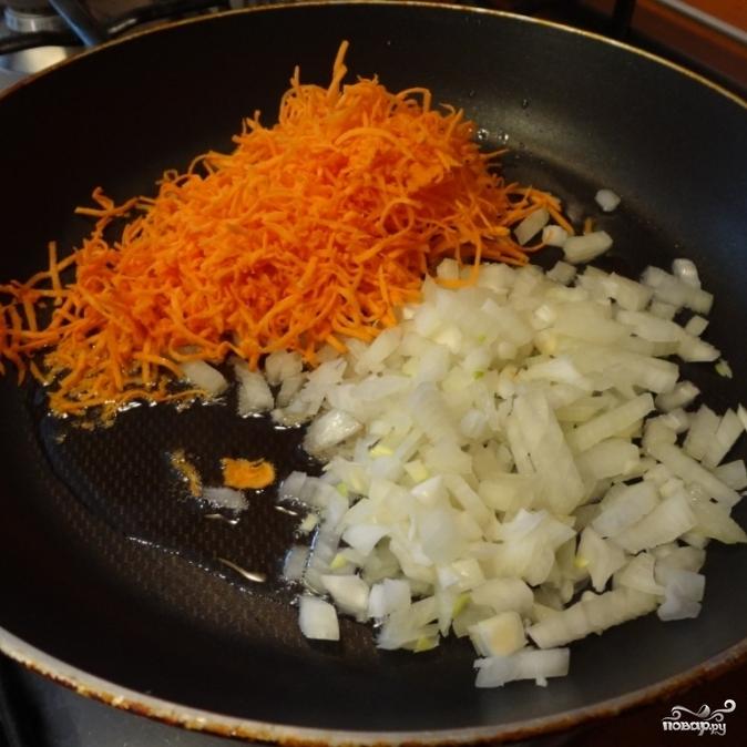 Солянка из свежей капусты - фото шаг 2
