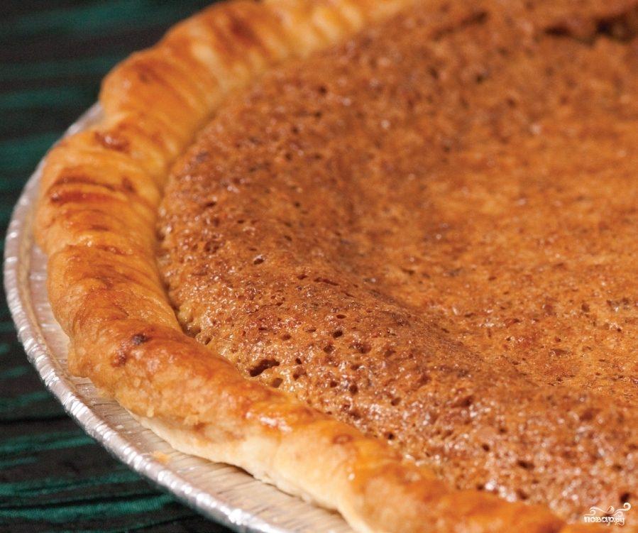 Золотой ромовый пирог