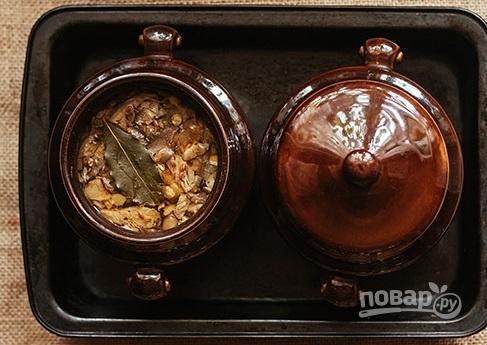 Cуп с чечевицей и грибами - фото шаг 7